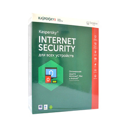 Антивирус Kaspersky Internet Security Multi-Device 3-Desktop 1 year Base Box