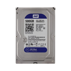 "Жесткий диск/3,5""/500Gb/SATA-III/Western Digital/WD5000AZLX/7200rpm/32Mb"